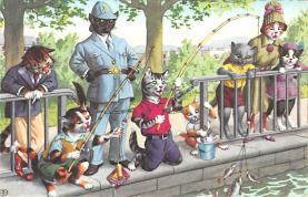 top003707 - Cat Post Card