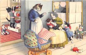 top003713 - Cat Post Card