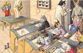 top003721 - Cat Post Card