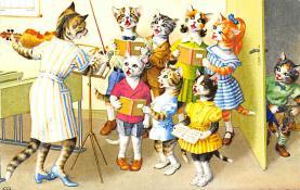 top003725 - Cat Post Card