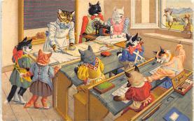 top003729 - Cat Post Card