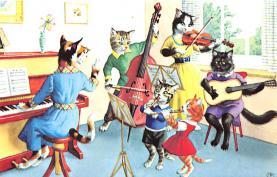 top003749 - Cat Post Card