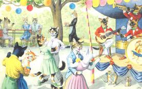 top003753 - Cat Post Card