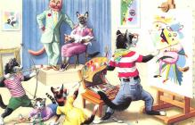 top003763 - Cat Post Card