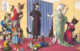 top003767 - Cat Post Card