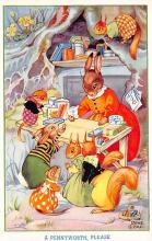 top003861 - Rabbit Post Card