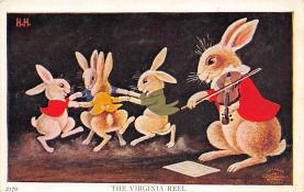 top003877 - Rabbit Post Card