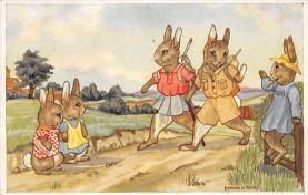 top003887 - Rabbit Post Card