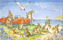 top003891 - Rabbit Post Card