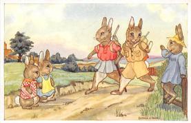 top003905 - Rabbit Post Card
