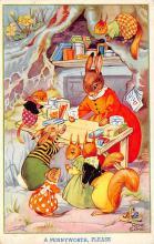 top003927 - Rabbit Post Card