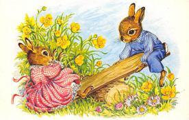 top003963 - Rabbit Post Card