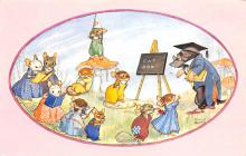 top003973 - Rabbit Post Card
