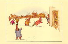 top003985 - Rabbit Post Card