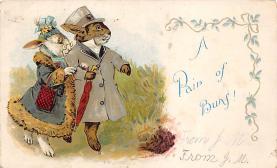 top003993 - Rabbit Post Card
