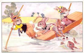top004001 - Rabbit Post Card