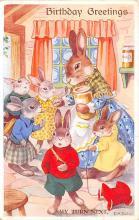 top004009 - Rabbit Post Card