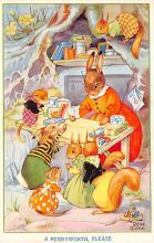top004015 - Rabbit Post Card