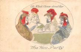 top004093 - Chicken Post Card