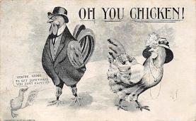 top004129 - Chicken Post Card