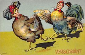 top004169 - Chicken Post Card