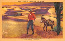 top004837 - Burro Post Card