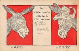 top004859 - Burro Post Card