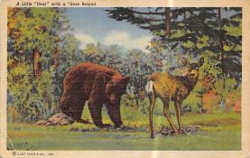 top005283 - Deer Post Card