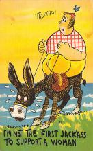 top005445 - Donkey Post Card
