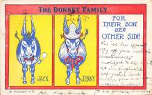 top005489 - Donkey Post Card
