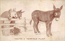 top005525 - Donkey Post Card