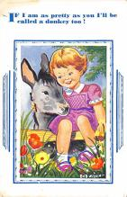 top005541 - Donkey Post Card