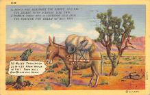 top005651 - Donkey Post Card