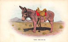 top005659 - Donkey Post Card
