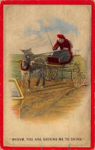 top005687 - Donkey Post Card