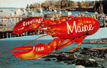 top006021 - Lobster Post Card