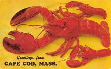 top006079 - Lobster Post Card