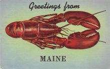 top006177 - Lobster Post Card