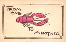 top006181 - Lobster Post Card