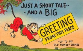 top006689 - Monkey Post Card
