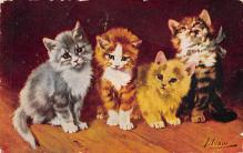 top007001 - Cat Post Card, Cats Postcards