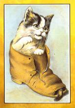 top007409 - Cat Post Card, Cats Postcards