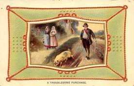 top007553 - Pig Post Card
