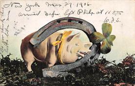top007591 - Pig Post Card