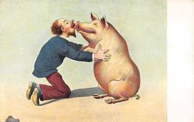 top007601 - Pig Post Card