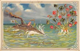 top007605 - Pig Post Card
