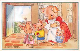 top007613 - Pig Post Card