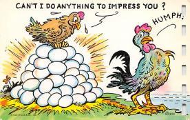 top007645 - Chicken Post Card