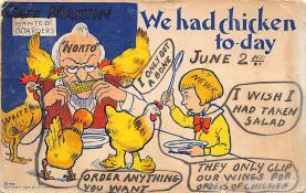 top007651 - Chicken Post Card