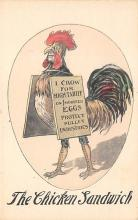 top007717 - Chicken Post Card